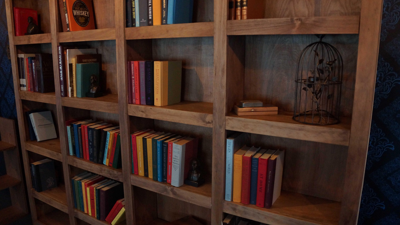 Escape the Library Bookcase